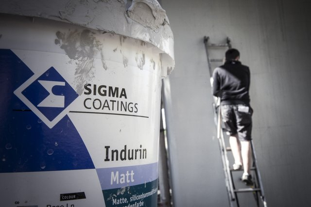 Murale podczas Trafiic Design zostały wykonane przy  użyciu farb Sigma Coatings fot.2 Rafał Kołsut.j