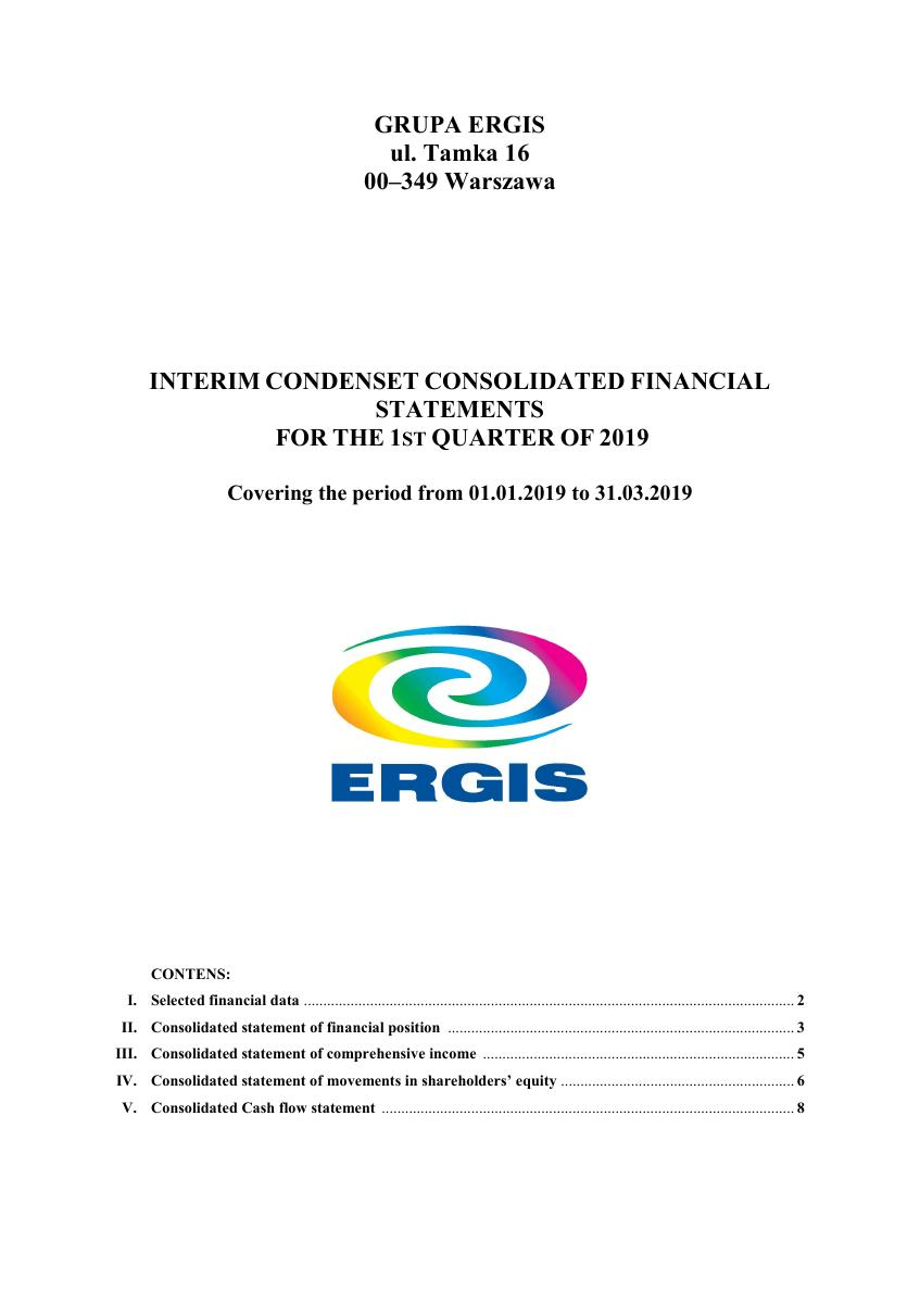 Consolidated financial statements for the 1st quarter of 2019.pdf