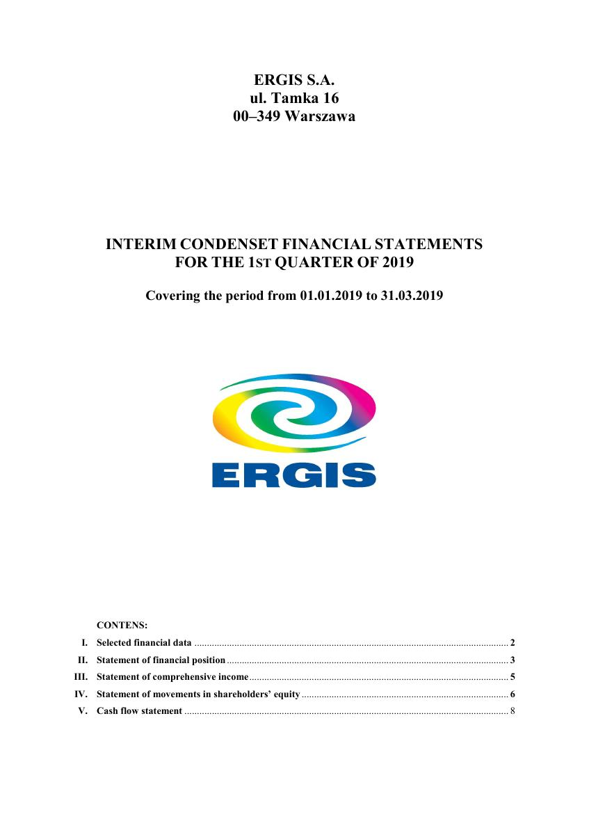 Financial Statement ERGIS for the 1st quarter of 2019.pdf