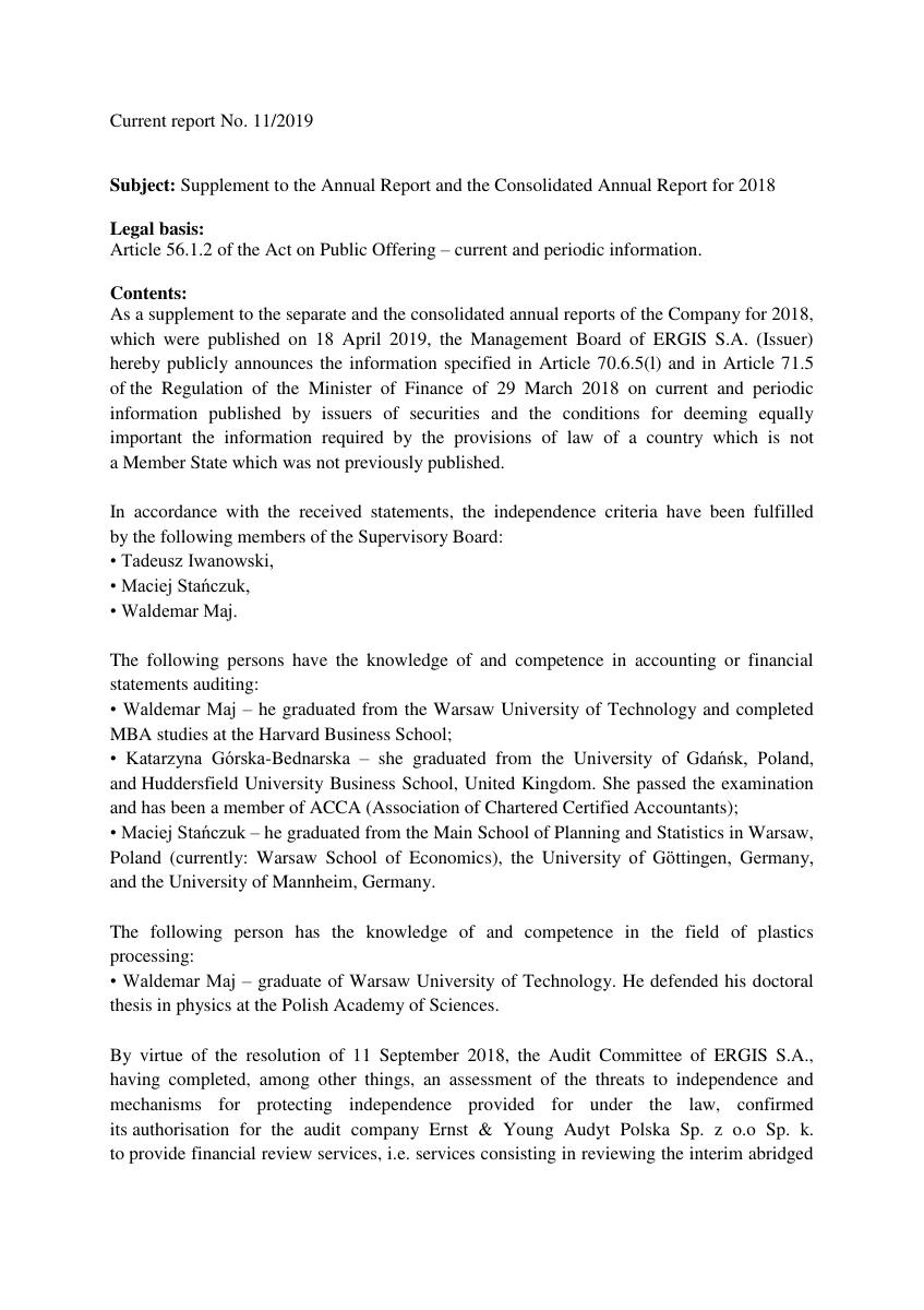 cr_2019_11_Supplement to the Annual Report and the Consolidated Annual Report for 2018.pdf
