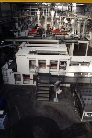 Hala produkcyjna folii nanoERGIS