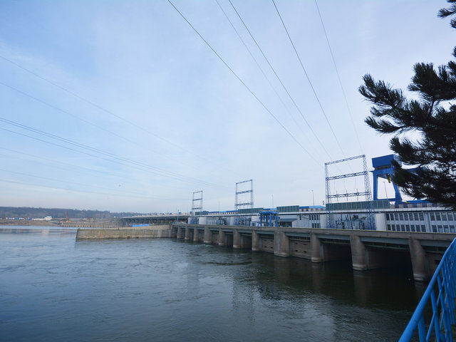Energa - elektrownia wodna eksploatowana na stopniu wodnym we Włocławku