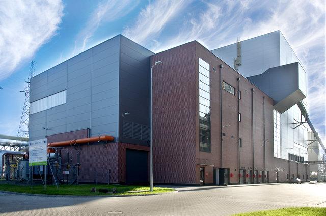 Blok energetyczny na biomasę ENERGA Kogeneracja Sp. z o.o. w Elblągu